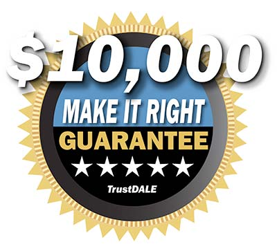 This company is TrustDALE Certified