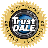 Precision Garage Door Service is a TrustDale Certified Partner