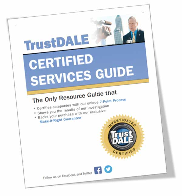 TrustDALE Certified Services Guide